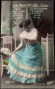 la pulga. Pilar Cohen 1910